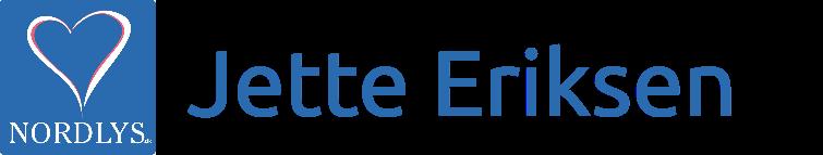 Jette Eriksen - ro og helbred